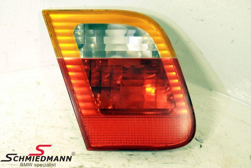 Baglygte standard gult blink inderste del på klap V.-side