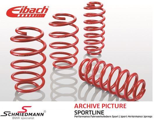 Eibach -Sportline- lowering springs front/rear 40/40MM
