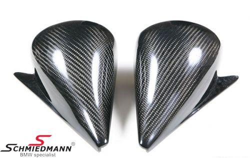 Motorsport Gr.A sidespejle i ægte carbon pr.sæt