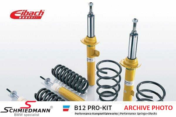 Eibach -B12 Pro-kit- sportsundervogn for/bag 25/25MM