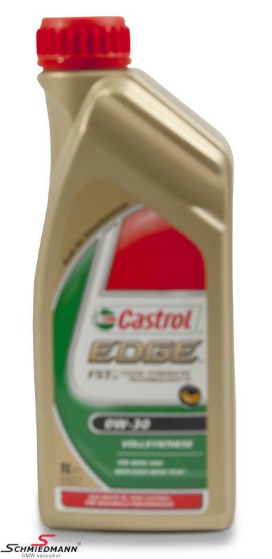 Motorolie Castrol 0W30 Edge FST fuldsyntetisk 1 liter dunk