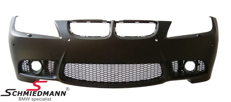 Frontspoiler Motorsport II EVO design (der skal bruges M-Tech.tågelygter)