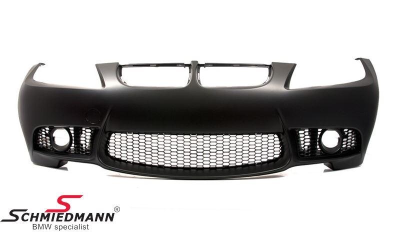 Frontspoiler Motorsport II EVO design -SPECIAL TILBUD- (der skal bruges M-Tech.tågelygter)