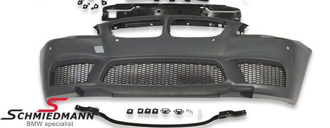 Frontspoiler -Motorsport II EVO- design uden tågelygter (tågelygter fjernes til fordel for store luftindtag)