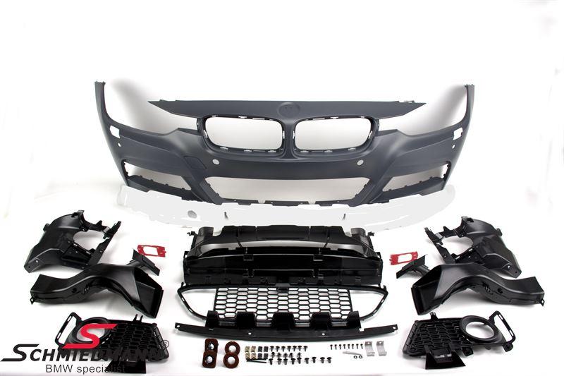 Frontspoiler Motorsport I design -Special tilbud- ekskl. tågelygter (de originale kan genbruges)