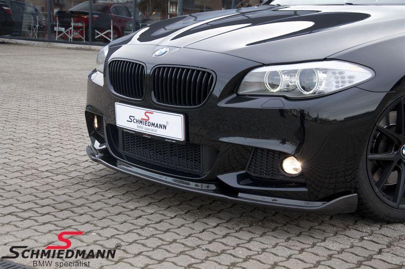 BMW F10 F11 Frontspoilerlippe Edition für M-Technic Frontspoiler echt Carbon