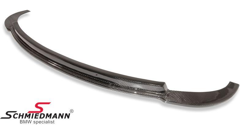 Frontspoilerlæbe carbon -Edition- til standard frontspoiler