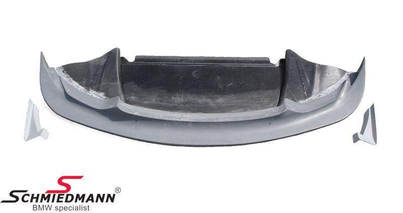 Frontspoilerlæbe ægte carbon -GT4-, inklusiv frontspoiler side-splitter diffussor sæt, original Flossmann Germany