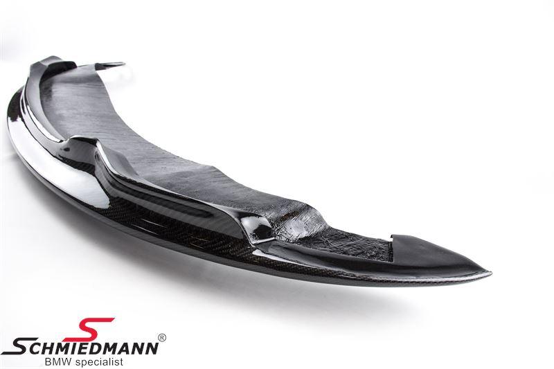 """Frontspoilerlæbe """"Motorsport"""" carbon belagt til org. kofanger"""