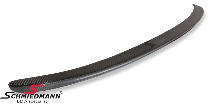 Hækspoilerlæbe -EVO race- ægte carbon