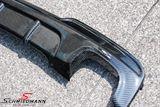 Hækskørte indsats -Motorsport II- til M-Technic hækskørte ægte carbon