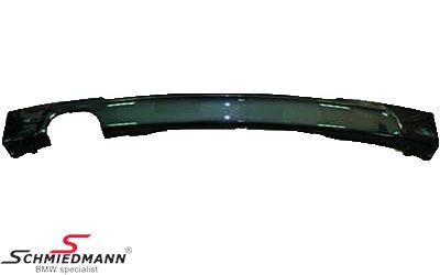 Hækskørte indsats med stor udskæring til rørhaler grundmalet -Motorsport 1- til M-Technic hækskørte