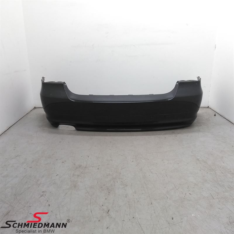 Rear bumper with PDC