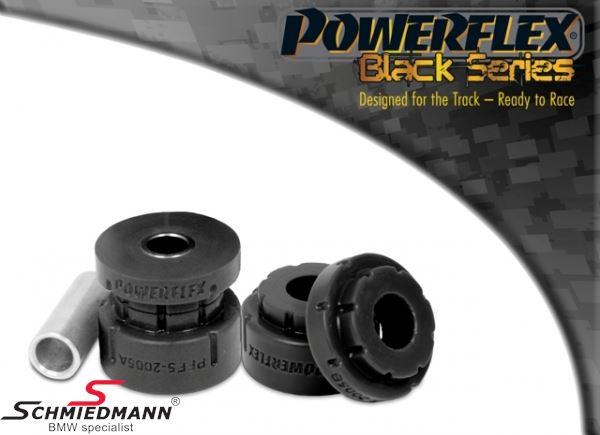 Powerflex racing -Black Series- forreste stræbearmsbøsninger mod chassis, sæt (Pos. 5 på diagrammet)