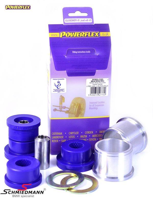 Powerflex racing bagsvingarms-bøsninger (komplette bøsninger, til direkte udskiftning)