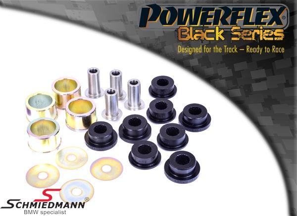 Powerflex racing -Black Series- bagerste stræbearmsbøsninger øverst yderst mod spindel (Diagram ref. 12)