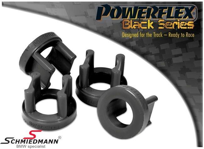 Powerflex racing -Black Series- bagbro-indsatser yderste bageste sæt (til banebrug) (kun indsatser billigere alternativ til PFR5-2021 + hurtigere montering) (Position 20 på diagram)