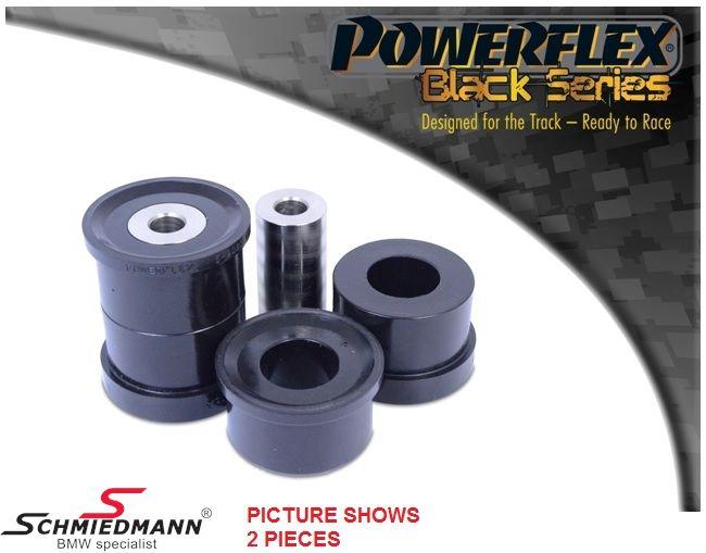 Powerflex racing -Black Series- bagbro-bøsninger yderste bageste sæt (til banebrug) (Position 20 på diagram)