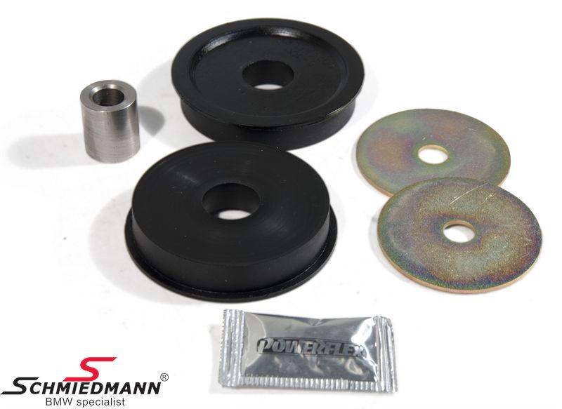 Powerflex racing -Black Series- bagtøjs (differentiale) bøsning (til banebrug)