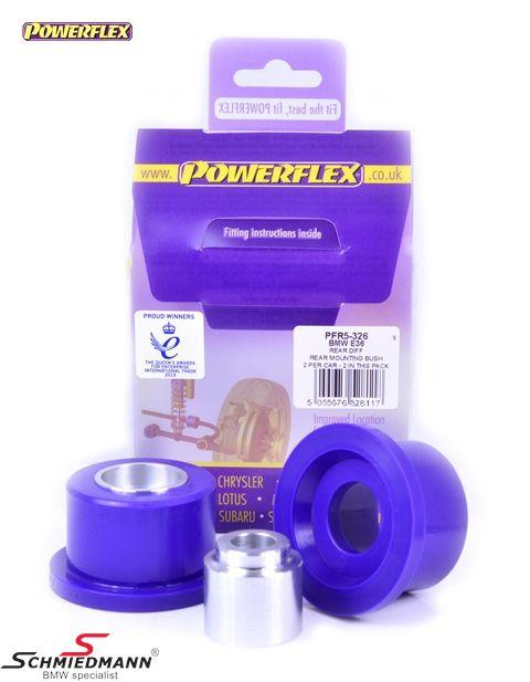 Powerflex racing bagbrobøsninger lodrette sæt (der er kun 2 stk. monteret/sælges som sæt)