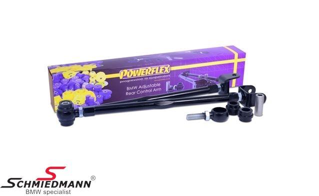 Powerflex justerbart stræbearms-sæt H+V.-side bag