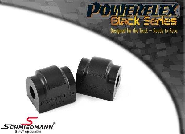Powerflex racing -Black Series- stabilisator bøsnings-sæt bag 15MM (til banebrug)