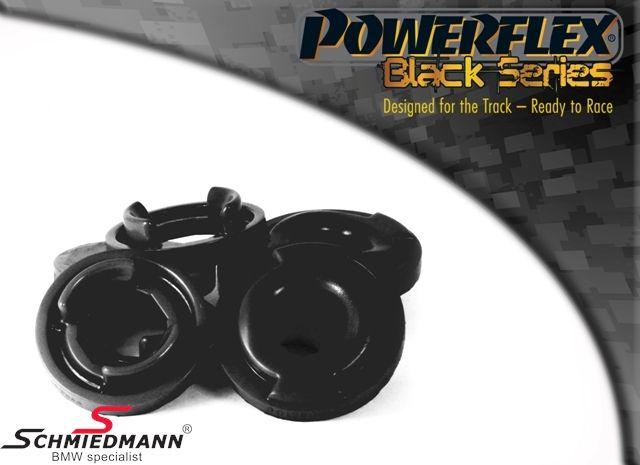 Powerflex racing -Black Series- bagbro-indsatser yderste bageste sæt 4 stk. (kun indsatser billigere alternativ til PFR5-530BLK + hurtigere montering)