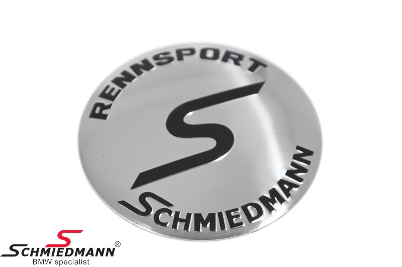 Schmiedmann fælge-emblem Ø70MM let buet (OE ref. vedr. størrelse: 36136758569)