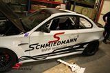 """Schmiedmann streamer sæt store længde = 140CM rødt """"S"""" tekst sort"""