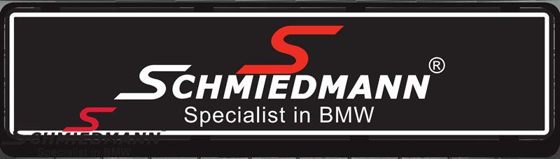 Schmiedmann sorte show/udstillings logo nr. plader til udstillings/salgsbiler 50x12CM
