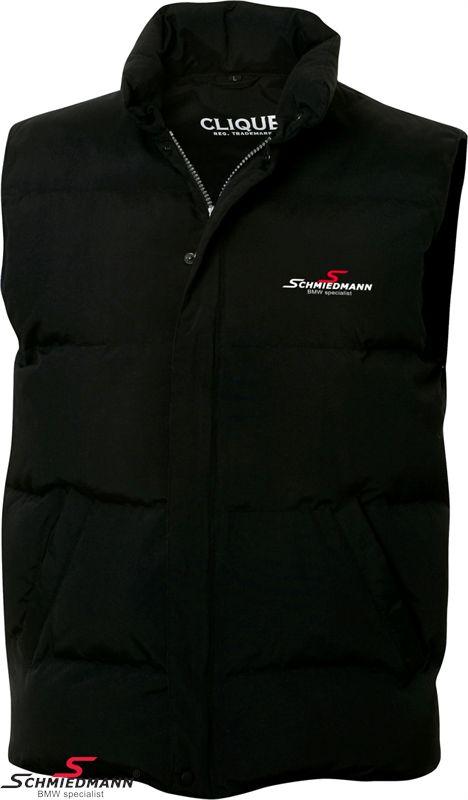 Schmiedmann sort logo vest/bodywarmer