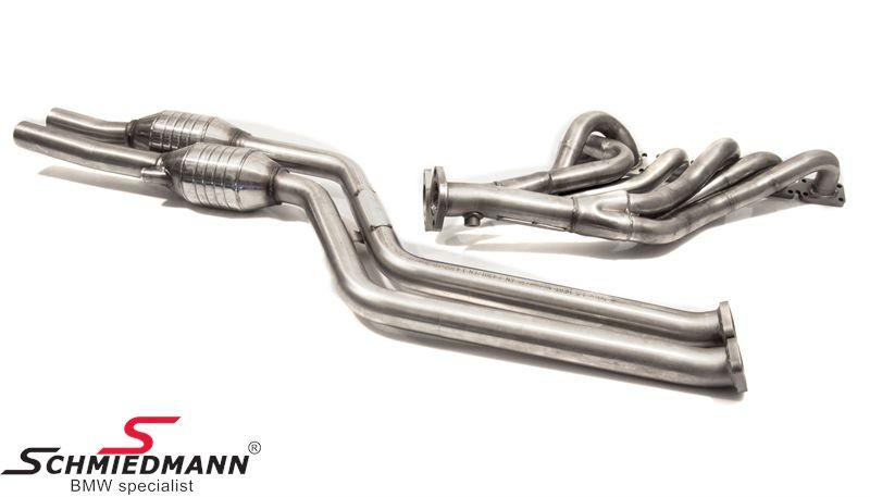 Schmiedmann bananmanifold inkl. 250cell high flow metal-kat.-system