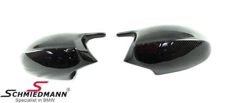 Sidemirror Cover Motorsport Carbon fiber R.+L.-side