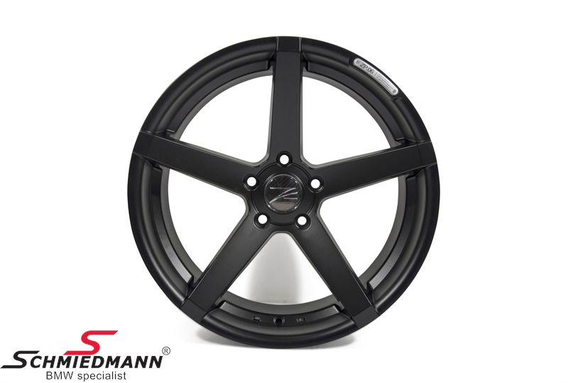 "19"" Z-Performance -Type 6- fælg 9,5X19, Matte Black (passer kun bag)"