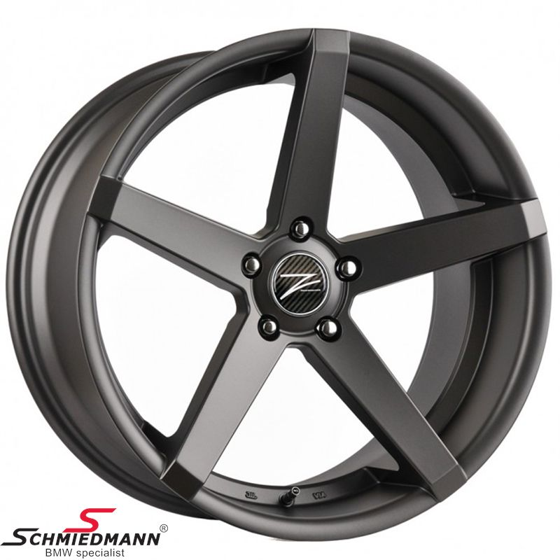 "20"" Z-Performance -Type 6- fælg 8,5X20 ET35, Matte Gun Metal"