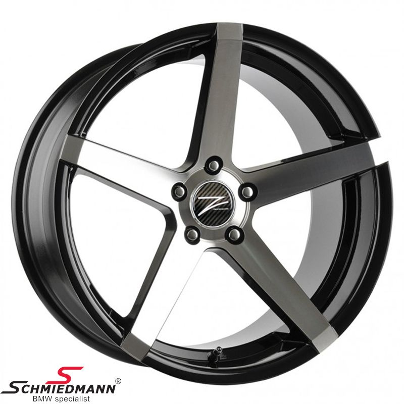 "20"" Z-Performance -Type 6- fælg 10X20 ET35, Phantom Black FP polished (passer kun bag)"