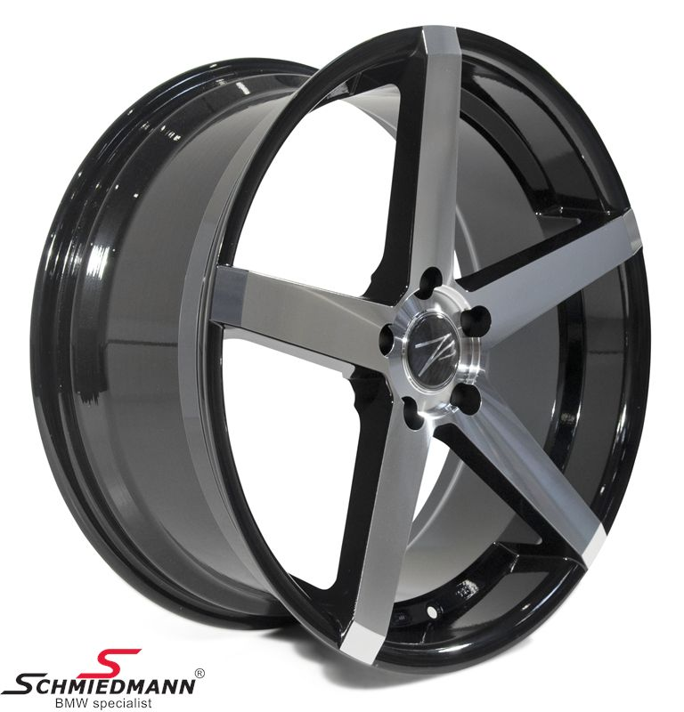 "20"" Z-Performance -Type 6- fælg 8,5X20 ET35, Phantom Black FP polished"