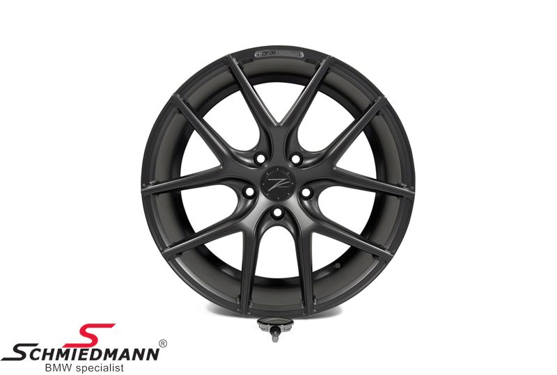 "19"" Z-Performance -Type 9- fælg 8,5X19 ET35, Matte Gun Metal"